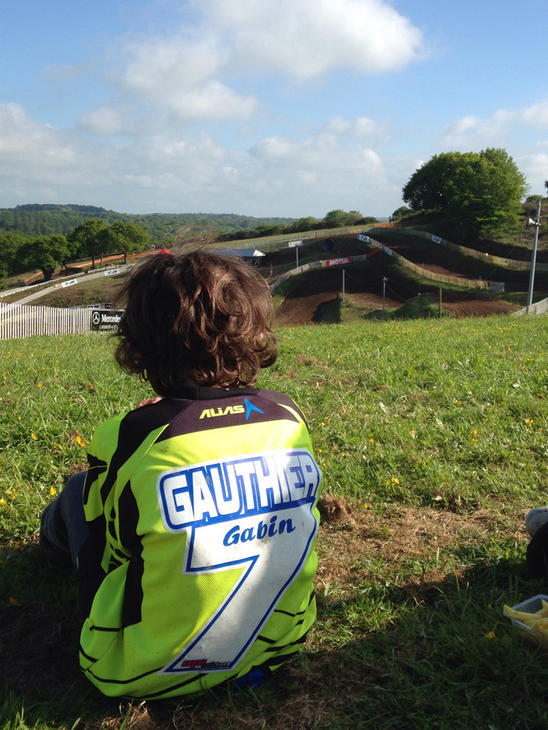 Marquage maillot Gauthier Gabin