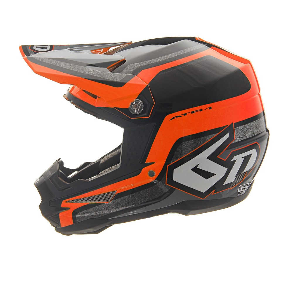 Casque cross 6D ATR-1 Fuse Orange 2019