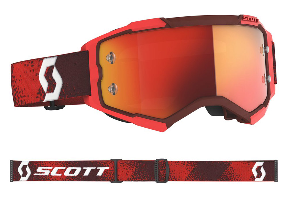 Masque cross Scott Fury Rouge 2020