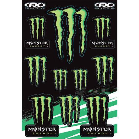 planche dautocollants factory effex monster energy