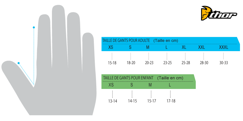 Guide Taille Gant Dc Shoes