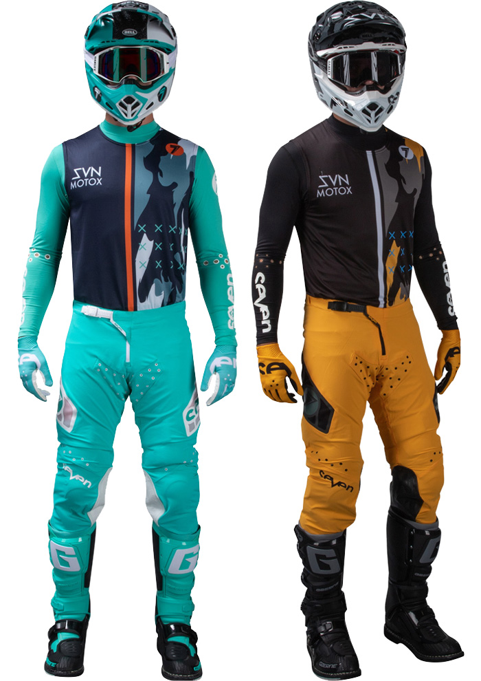 Tenue cross Seven Zero Vandal 2020