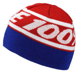 Bonnet 100% Rally Rouge - Bleu