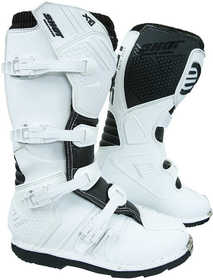Bottes cross Shot X10 2.0 White 2021