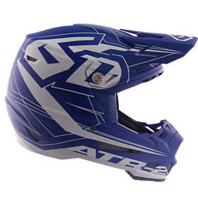 Casque cross 6D ATR-2 Aero Bleu 2019