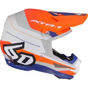 Casque cross 6D ATR-1 Pace Orange 2021