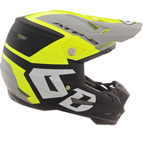 Casque cross 6D ATR-2 Helo Jaune 2020