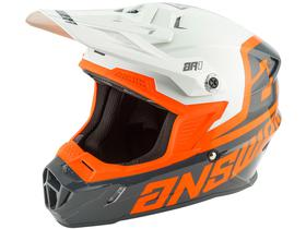 Casque cross Answer AR1 Voyd Charcoal-Orange 2020