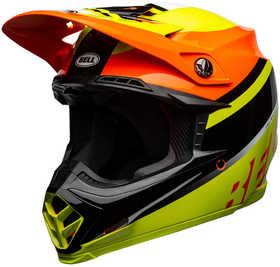 Casque cross Bell Moto-9 Mips Prophecy Jaune 2021