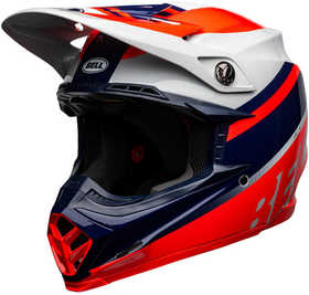 Casque cross Bell Moto-9 Mips Prophecy Rouge 2021