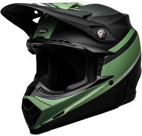 Casque cross Bell Moto-9 Mips Prophecy Vert 2021