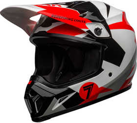Casque cross Bell MX-9 Mips Seven Battleship Rouge 2021