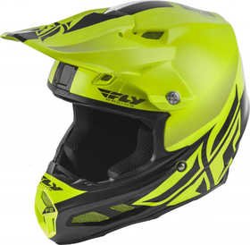 Casque cross Fly F2 Carbon Mips Shield Jaune 2020