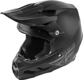 Casque cross Fly F2 Carbon Mips Solid Noir Mat 2020