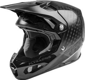 Casque cross Fly Formula Carbon Solid Noir 2021