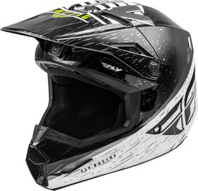 Casque cross Fly Kinetic K120 Noir 2020