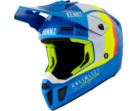 Casque cross Kenny Performance Candy Blue 2021