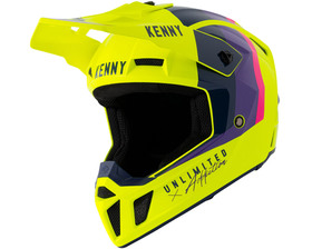 Casque cross Kenny Performance Neon Yellow 2021