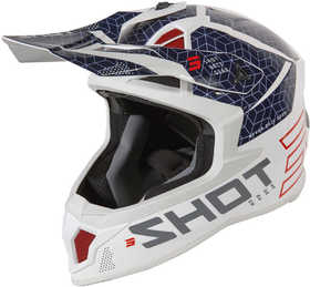 Casque cross Shot Lite Core Navy Red 2021