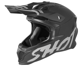 Casque cross Shot Lite Solid Black 2021