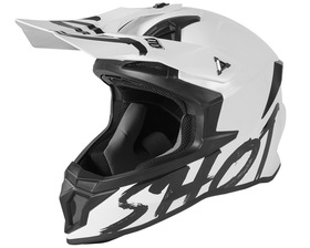 Casque cross Shot Lite Solid White 2021
