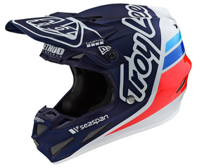 Casque cross Troy Lee Designs SE4 Composite Silhouette Team 2021