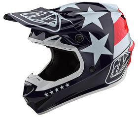 Casque cross Troy Lee Designs SE4 Polyacrylite Freedom 2020