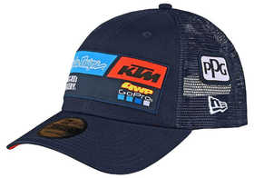 Casquette Troy Lee Designs Team KTM GoPro Curve Navy 2020
