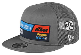Casquette Troy Lee Designs Team KTM GoPro Gris 2020