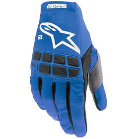 Gants cross Alpinestars Racefend Bleu 2021