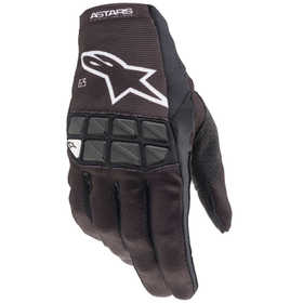 Gants cross Alpinestars Racefend Noir-Blanc 2021