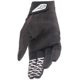 Gants cross Alpinestars Racefend Noir-Blanc 2021 Paume