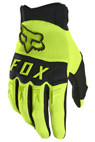 Gants cross Fox Dirtpaw Jaune Fluo 2021