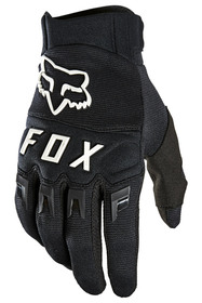 Gants cross Fox Dirtpaw Noir-Blanc 2021