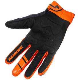Gants cross Kenny Titanium Black Orange 2021 Paume