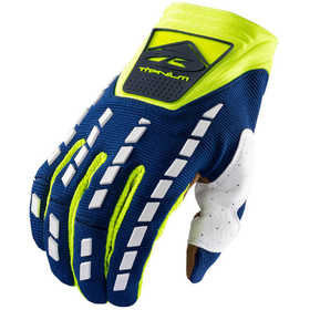 Gants cross Kenny Titanium Navy Neon Yellow 2021