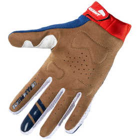 Gants cross Kenny Titanium Navy Red 2021 Paume
