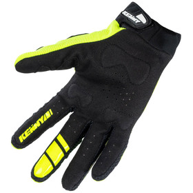 Gants cross Kenny Titanium Neon Yellow 2021 Paume