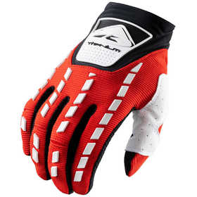 Gants cross Kenny Titanium Red White 2021