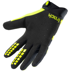 Gants cross Kenny Track Black Neon Yellow 2021 Paume
