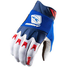 Gants cross Kenny Track Blue White Red 2021