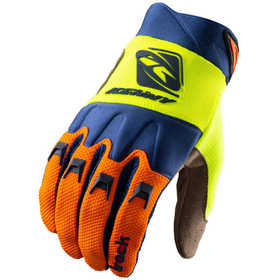 Gants cross Kenny Track Orange Navy Neon Yellow 2021