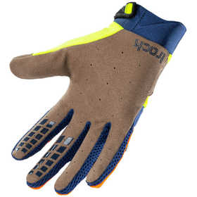 Gants cross Kenny Track Orange Navy Neon Yellow 2021 Paume