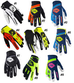 Gants cross Kenny Track - Pas cher - Destockage