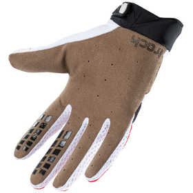Gants cross Kenny Track White Red Black 2021 Paume