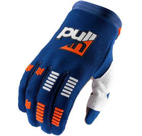 Gants cross Pull-In Challenger Navy Orange 2021