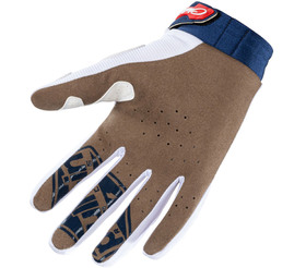 Gants cross Pull-In Challenger Navy White Red 2021 Paume