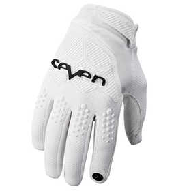 Gants cross Seven Rival Blanc 2020