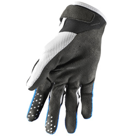 Gants cross Thor Draft Bleu 2021 Paume