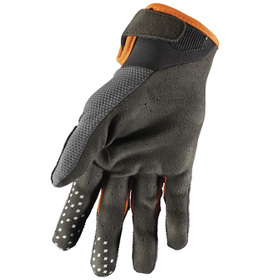 Gants cross Thor Draft Charcoal 2021 Paume